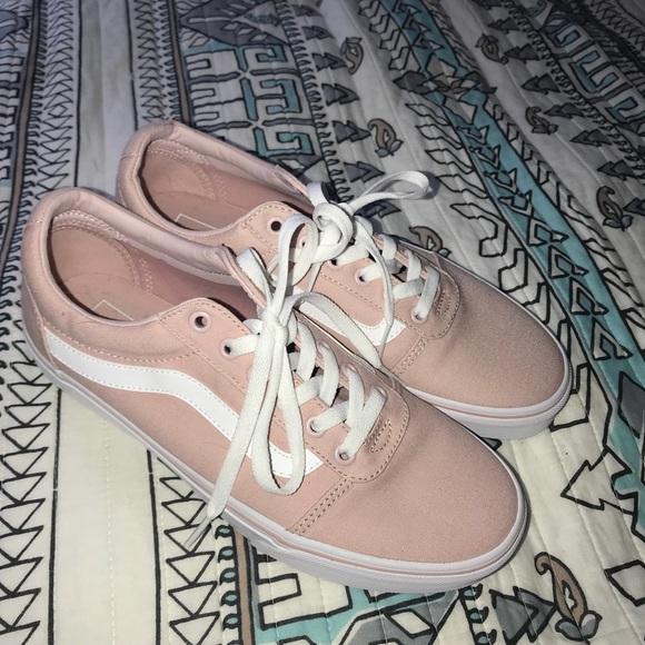 Vans Pink Ward Old Skool Tennis Shoes New in Box NWT